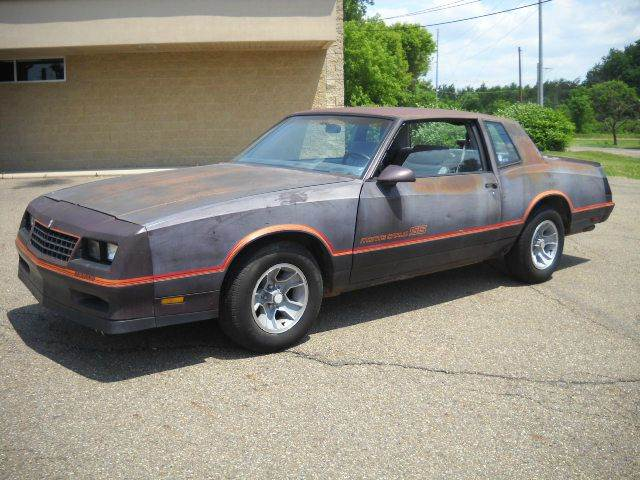 1985 Monte Carlo Ss >> 1985 Chevrolet Monte Carlo Ss 2dr Coupe In Canton Oh Taylors Auto
