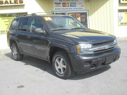 2004 Chevrolet TrailBlazer for sale at Mr. G's Auto Sales in Shelbyville TN