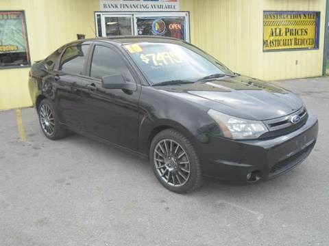 2010 Ford Focus for sale at Mr. G's Auto Sales in Shelbyville TN