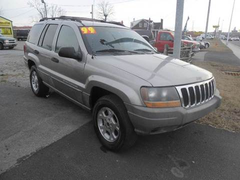 1999 Jeep Grand Cherokee for sale at Mr. G's Auto Sales in Shelbyville TN