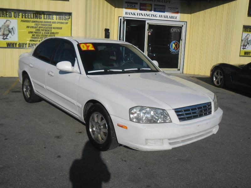 2002 Kia Optima for sale at Mr. G's Auto Sales in Shelbyville TN