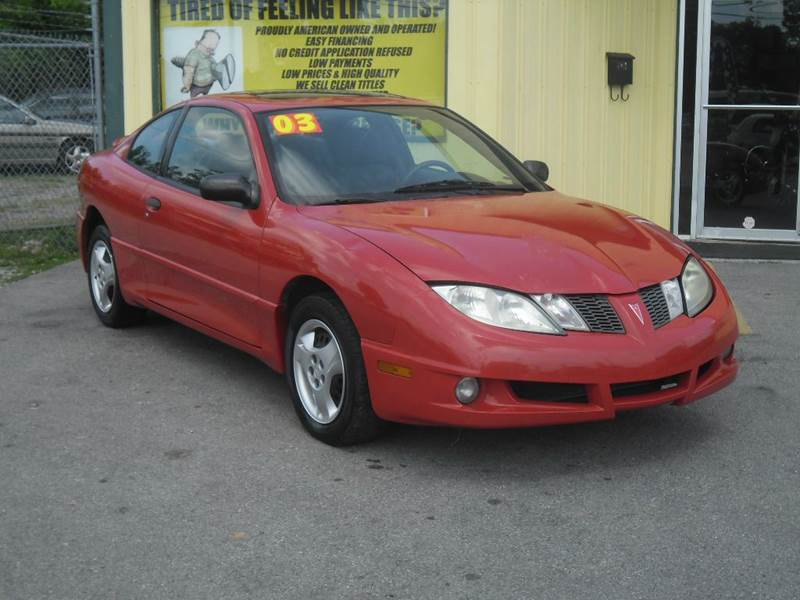 2003 Pontiac Sunfire Base 2dr Coupe In Shelbyville Tn Mr Gs Auto
