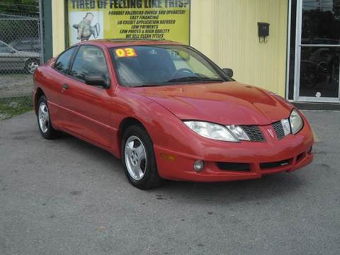2003 Pontiac Sunfire for sale at Mr. G's Auto Sales in Shelbyville TN