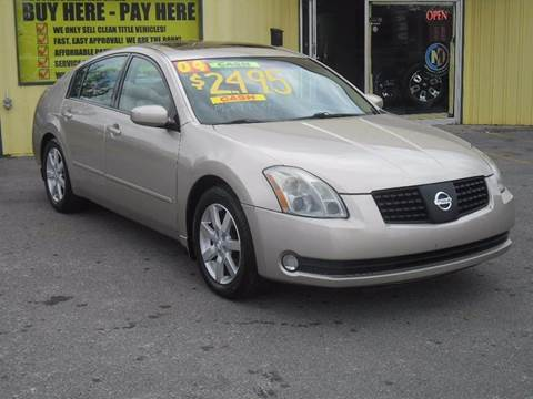 2004 Nissan Maxima for sale at Mr. G's Auto Sales in Shelbyville TN