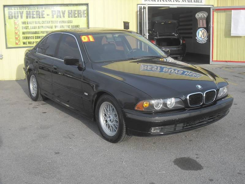 2001 Bmw 5 Series 525i 4dr Sedan In Shelbyville TN - Mr. G\'s Auto Sales