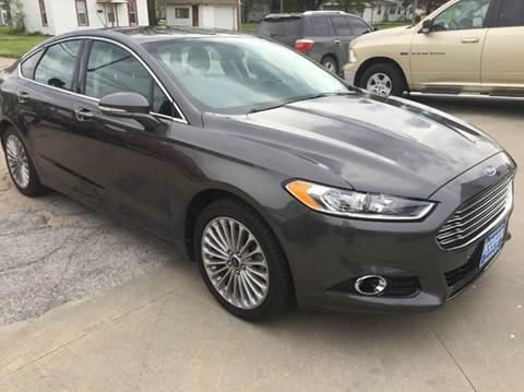 2016 Ford Fusion for sale in David City, NE