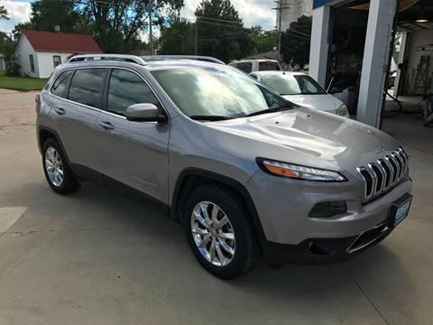 2017 Jeep Cherokee for sale in David City, NE