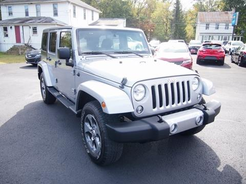 2016 Jeep Wrangler Unlimited for sale in Thompsontown, PA