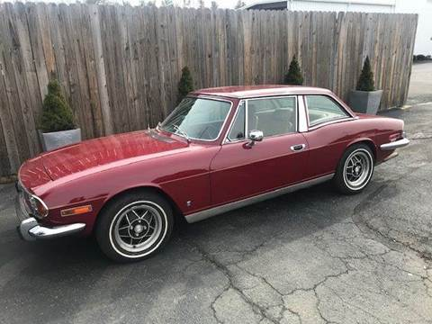 1973 Triumph Stag for sale at Cville Classic Cars Inc. in Charlottesville VA