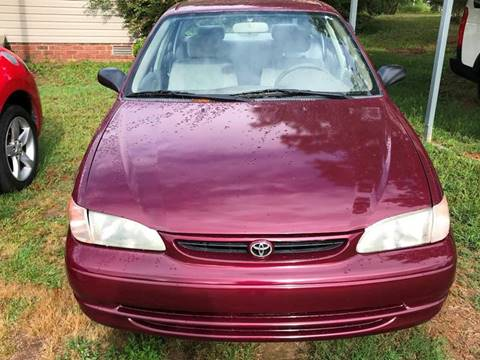 1998 Toyota Corolla For Sale Carsforsale Com