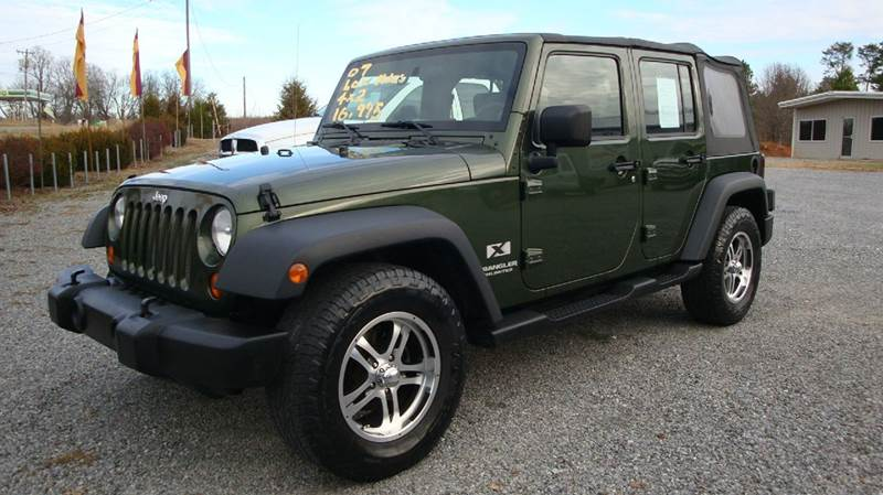 2007 Jeep Wrangler Unlimited for sale at First Choice Auto Sales in Lawndale NC