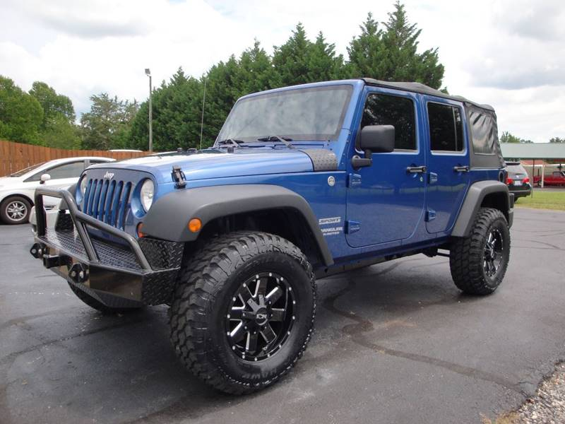 2010 Jeep Wrangler Unlimited for sale at First Choice Auto Sales in Lawndale NC