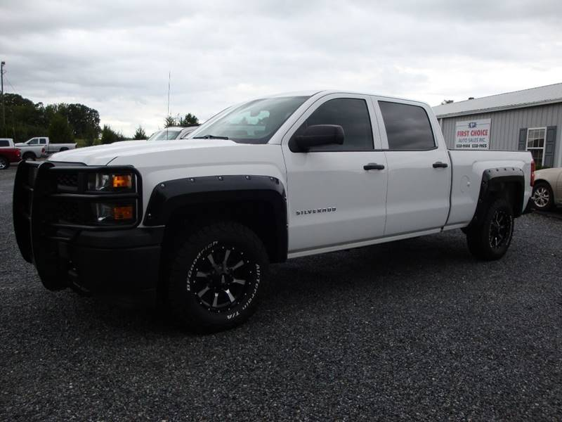 2014 Chevrolet Silverado 1500 for sale at First Choice Auto Sales in Lawndale NC