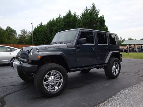 2008 Jeep Wrangler Unlimited for sale at First Choice Auto Sales in Lawndale NC