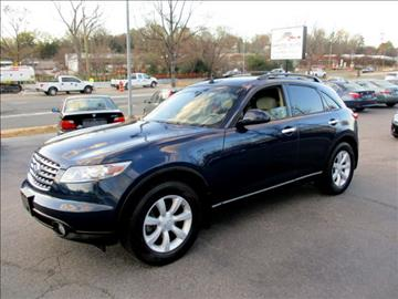 2005 Infiniti FX35 for sale in Raleigh, NC