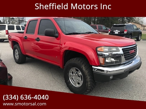 2008 GMC Canyon for sale in Thomasville, AL