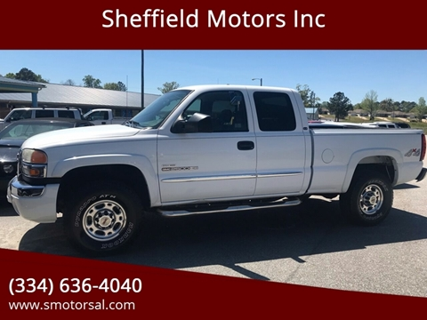 2006 GMC Sierra 2500HD for sale in Thomasville, AL