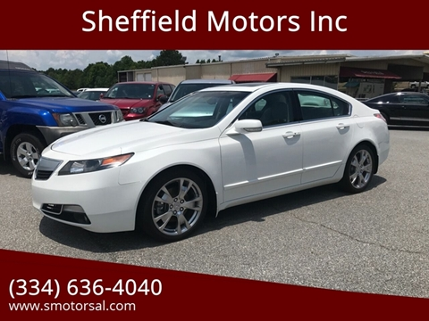 2012 Acura TL for sale in Thomasville, AL