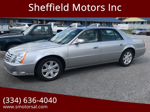 2007 Cadillac DTS for sale in Thomasville, AL