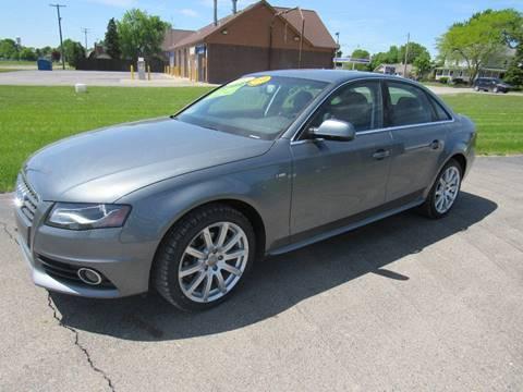 2012 Audi A4 for sale in Britton, MI