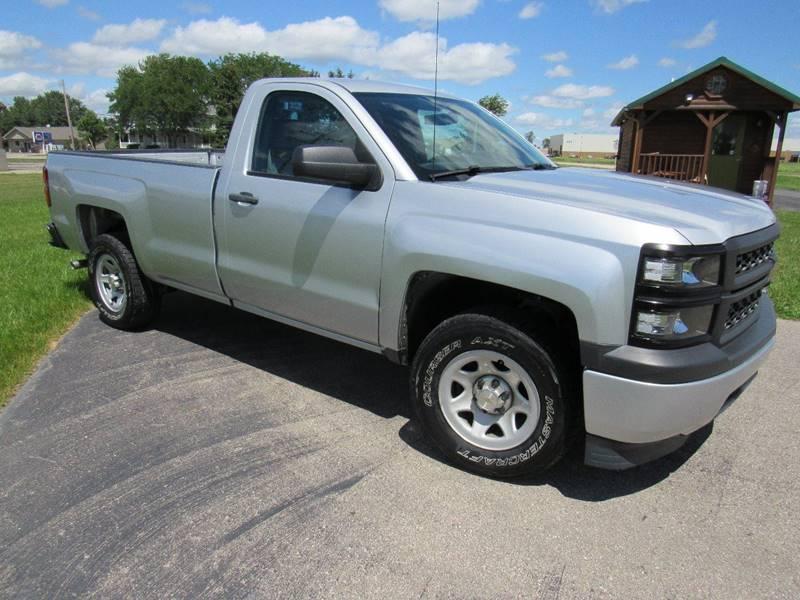 2014 Chevrolet Silverado 1500 4x2 Work Truck 2dr Regular Cab 8 ft. LB w/1WT - Britton MI