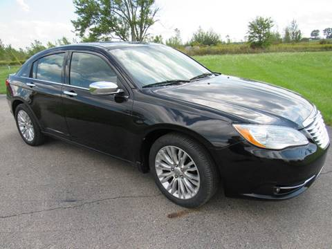 2011 Chrysler 200 for sale in Britton, MI