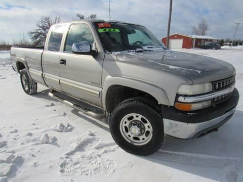 2000 Chevrolet Silverado 2500 for sale in Britton, MI