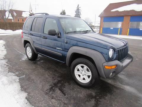 2004 Jeep Liberty for sale in Britton, MI