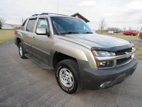 2003 Chevrolet Avalanche for sale in Britton, MI