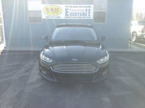 2015 Ford Fusion for sale in South Haven, MI