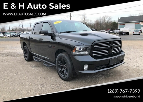 2017 RAM Ram Pickup 1500 for sale at E & H Auto Sales in South Haven MI