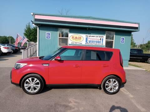 2014 Kia Soul for sale at E & H Auto Sales in South Haven MI