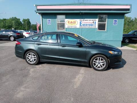 2016 Ford Fusion for sale at E & H Auto Sales in South Haven MI