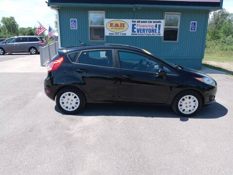 2016 Ford Fiesta for sale at E & H Auto Sales in South Haven MI
