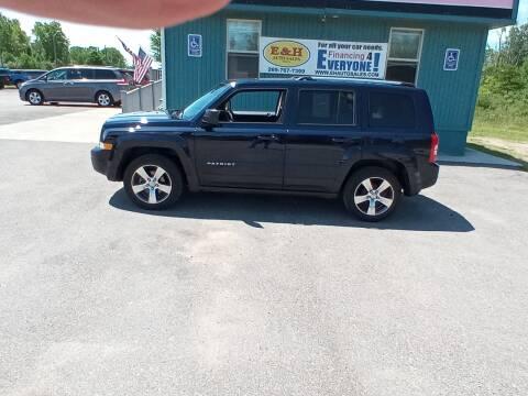 2017 Jeep Patriot for sale at E & H Auto Sales in South Haven MI