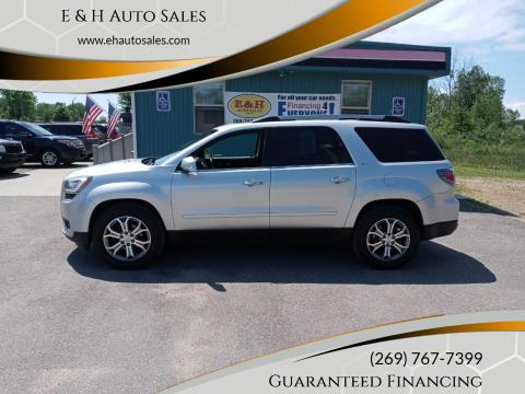 2014 GMC Acadia for sale at E & H Auto Sales in South Haven MI