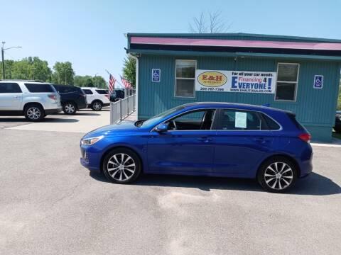 2019 Hyundai Elantra GT for sale at E & H Auto Sales in South Haven MI