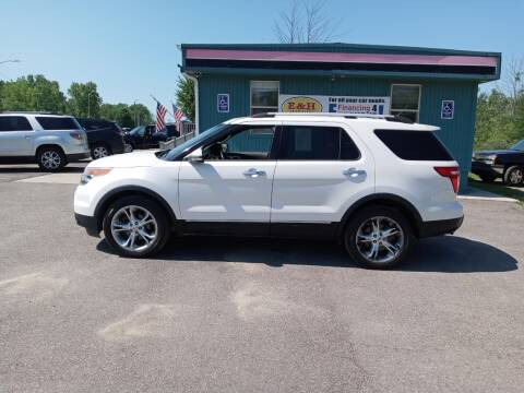 2013 Ford Explorer for sale at E & H Auto Sales in South Haven MI