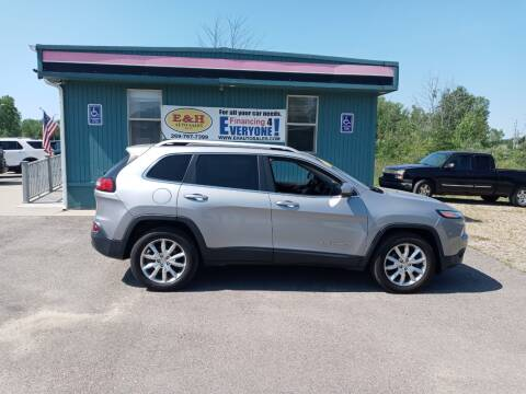 2014 Jeep Cherokee for sale at E & H Auto Sales in South Haven MI