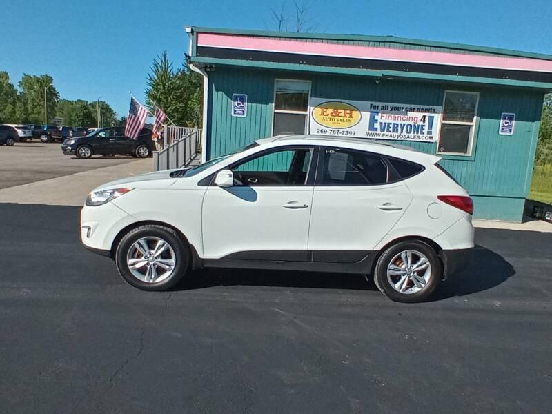 2013 Hyundai Tucson for sale at E & H Auto Sales in South Haven MI