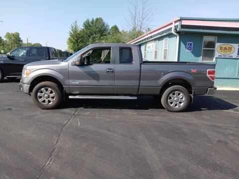 2013 Ford F-150 for sale at E & H Auto Sales in South Haven MI