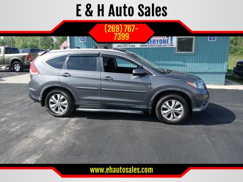 2012 Honda CR-V for sale at E & H Auto Sales in South Haven MI