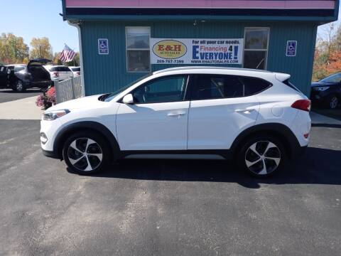 2017 Hyundai Tucson for sale at E & H Auto Sales in South Haven MI