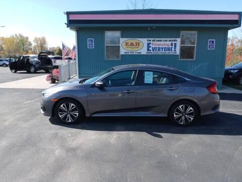 2018 Honda Civic for sale at E & H Auto Sales in South Haven MI