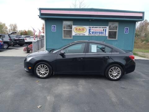 2013 Chevrolet Cruze for sale at E & H Auto Sales in South Haven MI