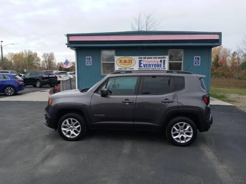 2017 Jeep Renegade for sale at E & H Auto Sales in South Haven MI