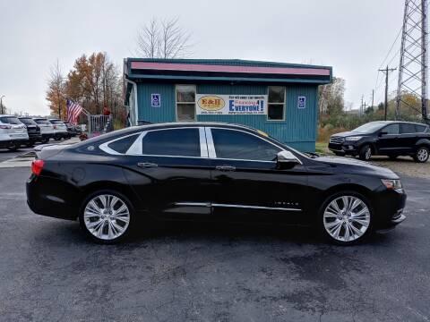 2016 Chevrolet Impala for sale at E & H Auto Sales in South Haven MI