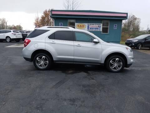 2017 Chevrolet Equinox for sale at E & H Auto Sales in South Haven MI