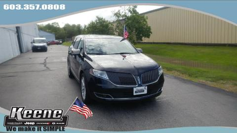 2015 Lincoln MKT for sale in Keene, NH
