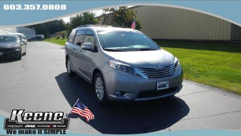 2015 Toyota Sienna for sale in Keene NH